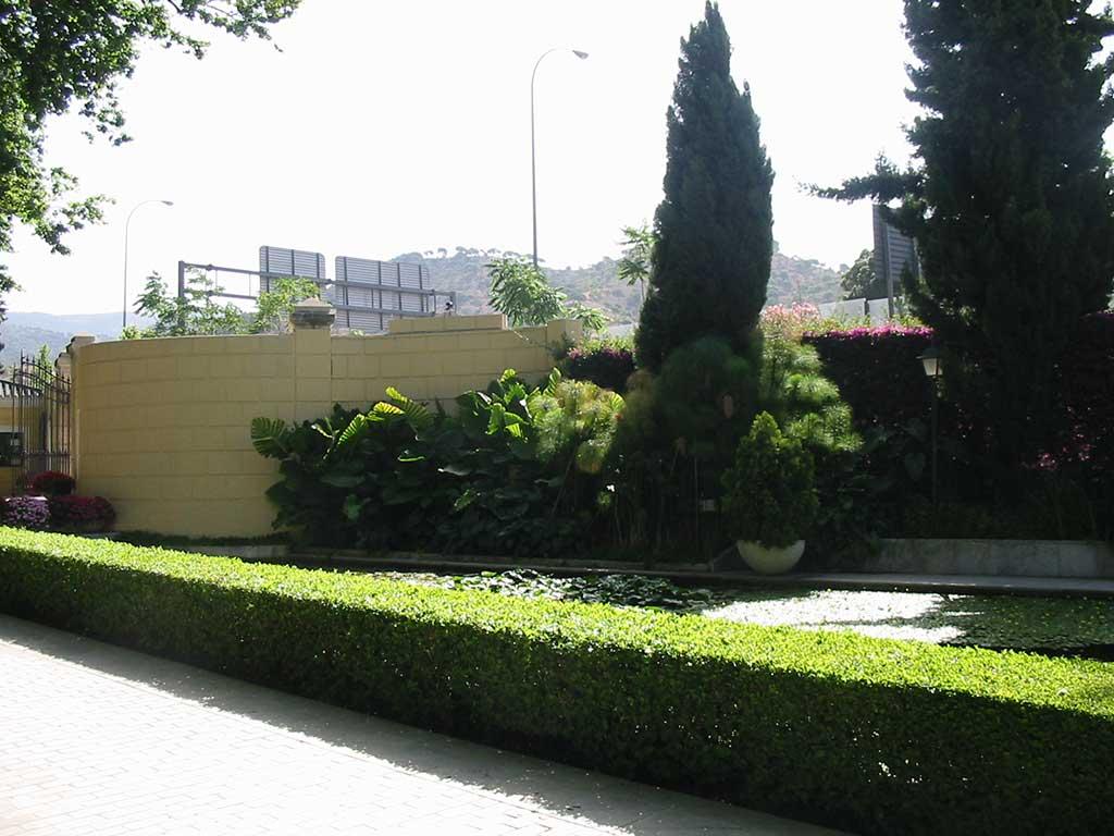 Rv arquitectas for Proyecto jardineria